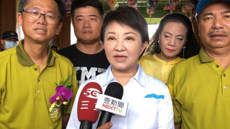 台中市長盧秀燕表示,須留在台中處理中捷問題,不參加秋鬥了。圖/台中市新聞局提供