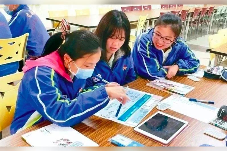 台北市教育局訂定「北市高級中等學校學生校外學習學分抵免及成績採計實施要點」。本報資料照片