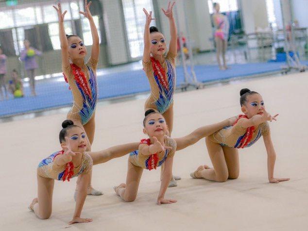 韻律體操是桃園市強項運動,也在全國受矚目。圖/桃園市韻律體操發展協會提供