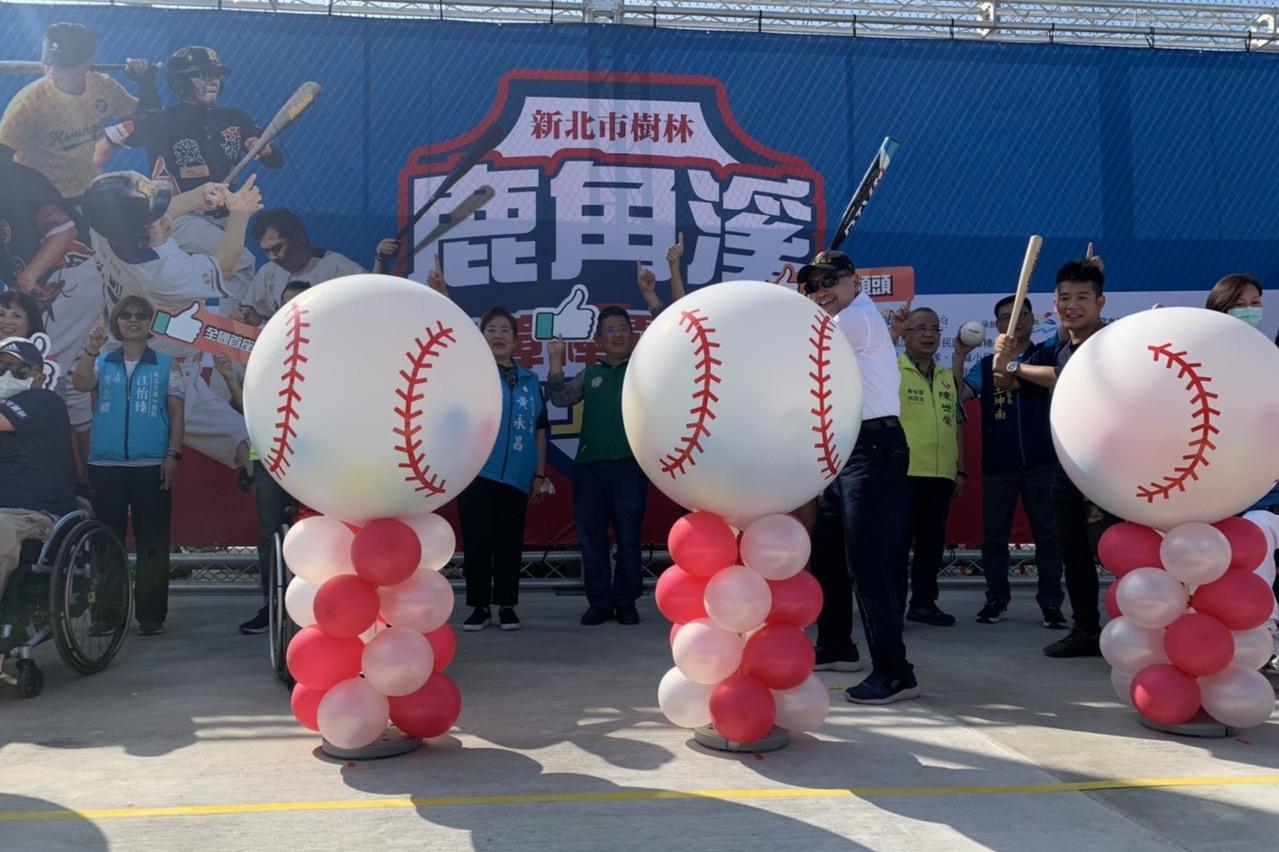 全國首座身障棒壘球場落成 22日正式啟用