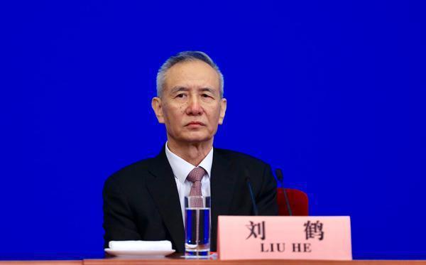 大陸國務院副總理劉鶴21日指出,近期大陸債券違約個案有所增加。(圖/取自新浪網)