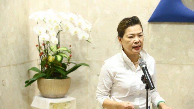 經濟部下午舉行會議與產業界溝通RCEP簽署後情形,會後經濟部長王美花表示,RCE...