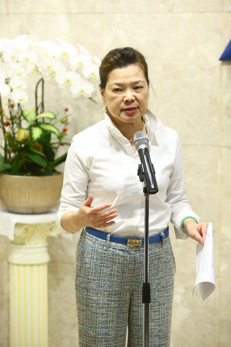 經濟部長王美花。記者葉信菉/攝影
