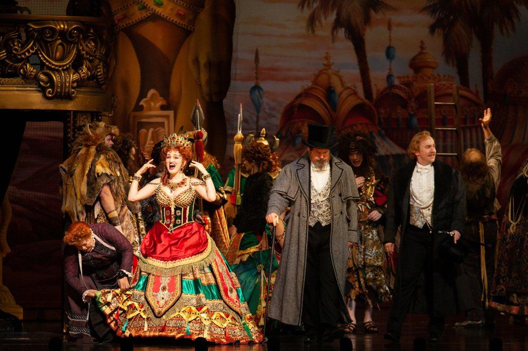 「歌劇魅影」開演至今觀賞人數破萬人。圖/寬宏提供