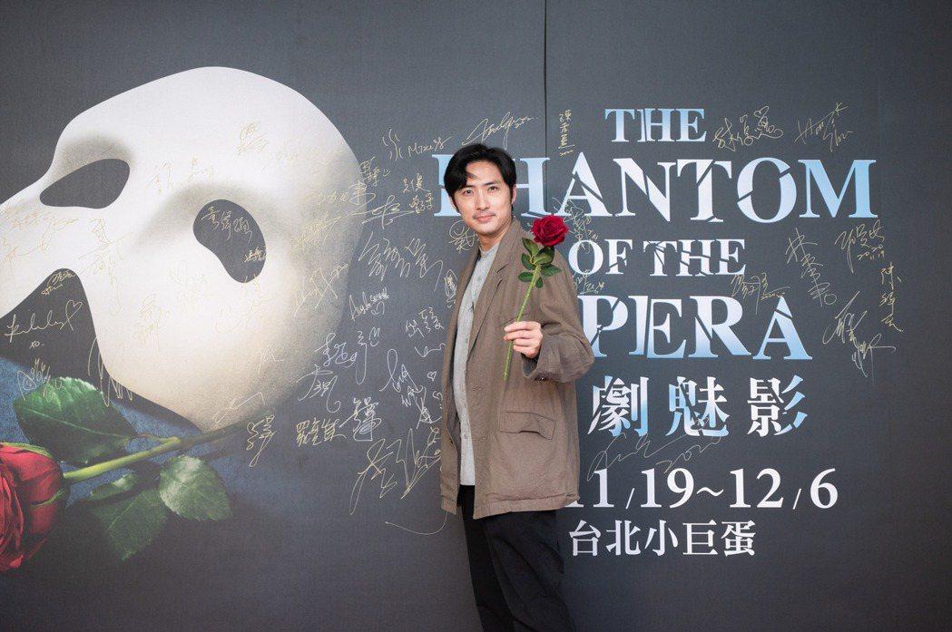 李運慶來欣賞「歌劇魅影」。圖/寬宏提供