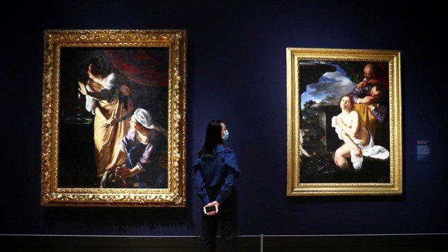 不受疫情影響,藝術品線上銷售價值翻倍成長。路透