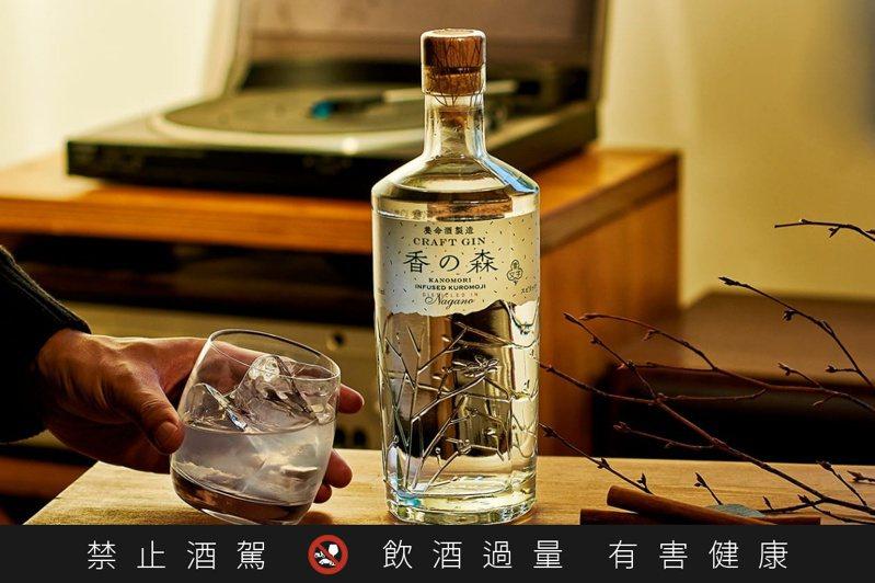 養命酒製造株式会社推出的「香の森」琴酒。圖/摘自養命酒製造株式会社官網。提醒您:禁止酒駕 飲酒過量有礙健康。