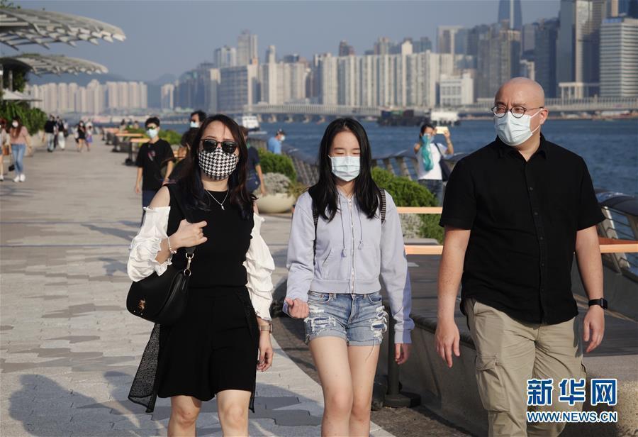 截至22日凌晨零時,香港新增68例新冠肺炎確診案例。(圖/取自新華網)