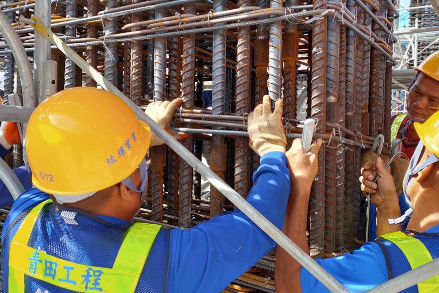 基隆市第3座超過100公尺大樓 採用柱中柱工法加強抗震