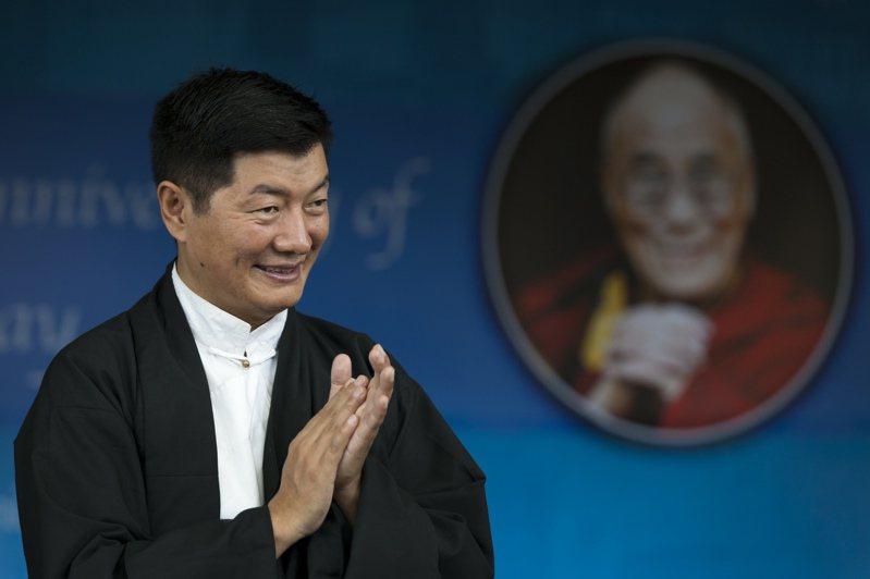 西藏流亡政府首長洛桑森格。(美聯社)