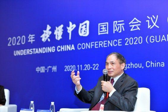 香港中文大學(深圳)全球與當代中國高等研究院院長鄭永年21日表示,大陸現在要追求的是質量型經濟增長。圖/取自澎湃新聞
