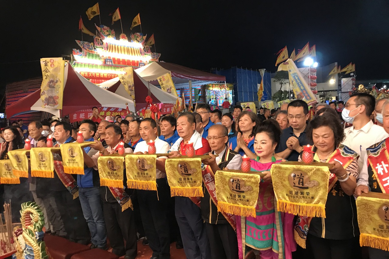 新北玄天上帝文化祭 500神尊齊聚泰山捷運公園