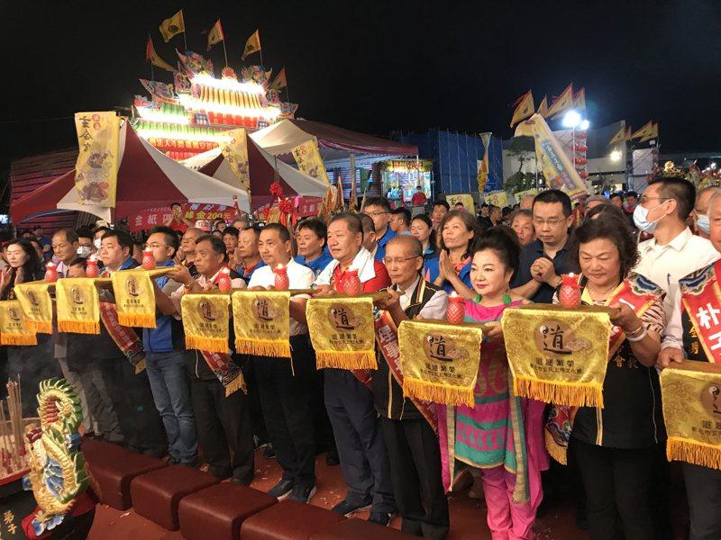 新北市長侯友宜今出席玄天上帝文化祭。圖/新北民政局提供