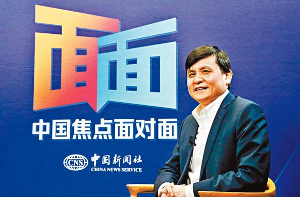 上海華山醫院感染科主任張文宏表示,目前中國大陸的疫情都在可控範圍,並未有連續性的社區二代病例發生。(中新社資料照片)