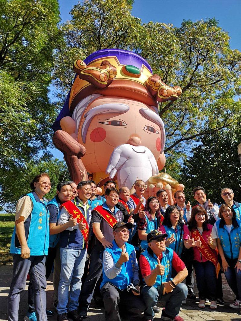 邁入第九年的中和土地公文化祭主活動今於中和公園熱鬧登場。圖/中和區公所提供