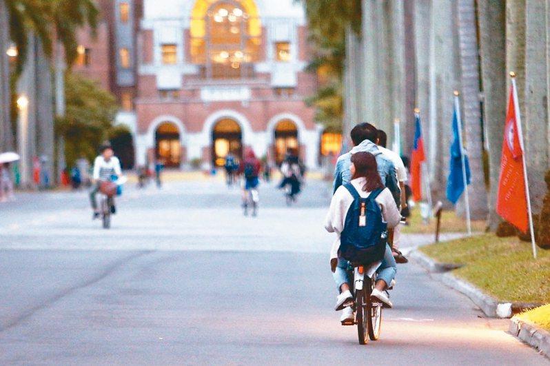 學生不幸事件發生後,台大已成立專案小組體檢校園安全,並加強學生心理輔導。 圖/本報資料照片