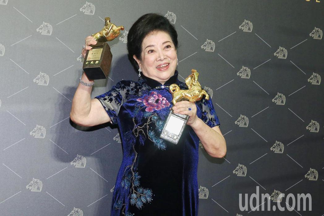第57屆金馬獎最佳女主角、女配角,由陳淑芳獲得。  圖/林伯東 攝影