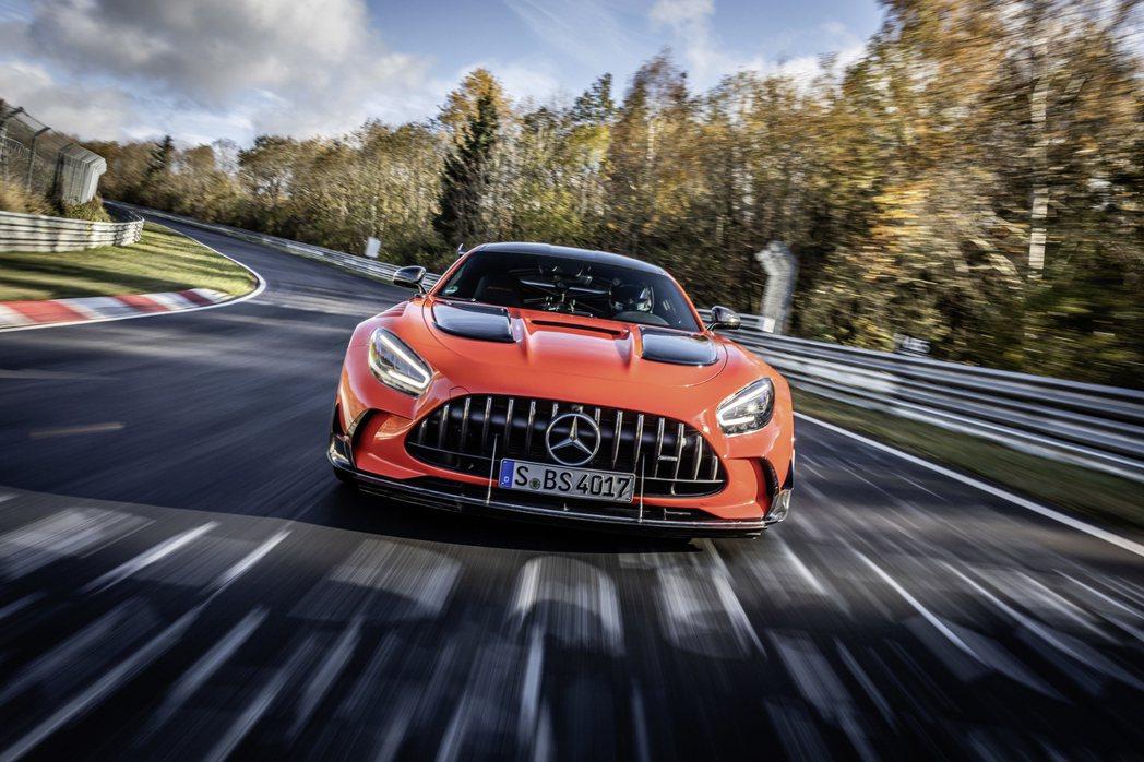 Mercedes-AMG GT Black Series。 圖/Mercedes...