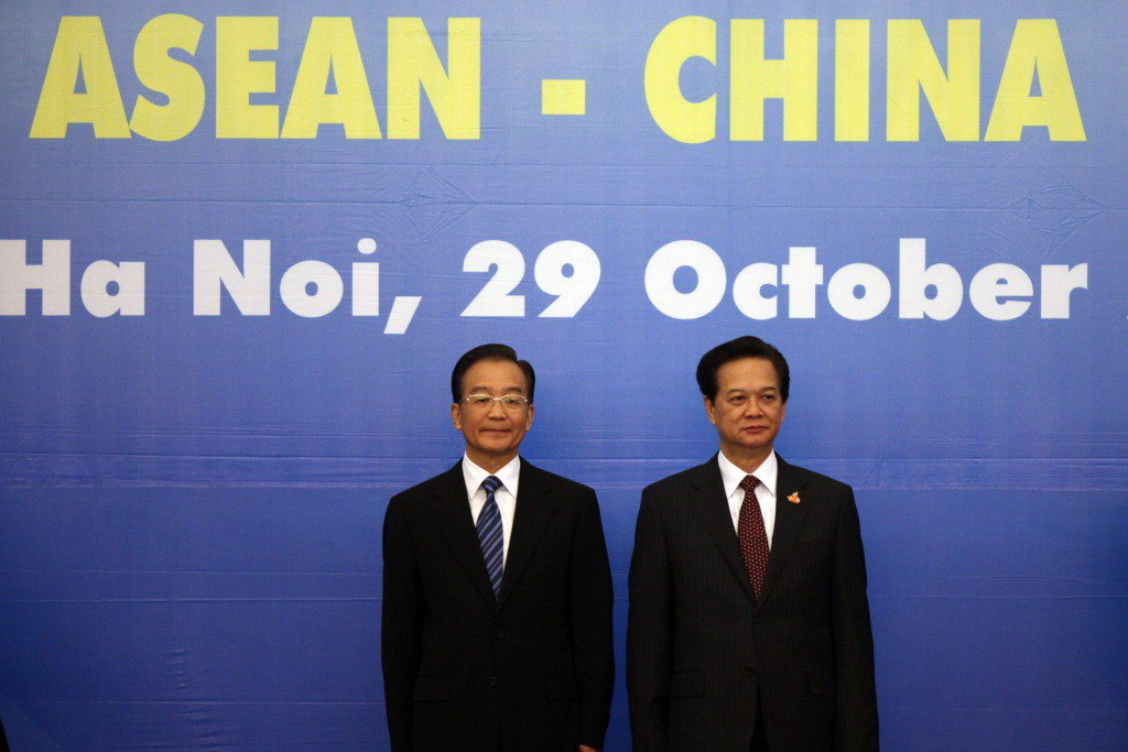 2010年,東協與中國建立中國—東協自由貿易區,形成「東協加一」。 圖/美聯社