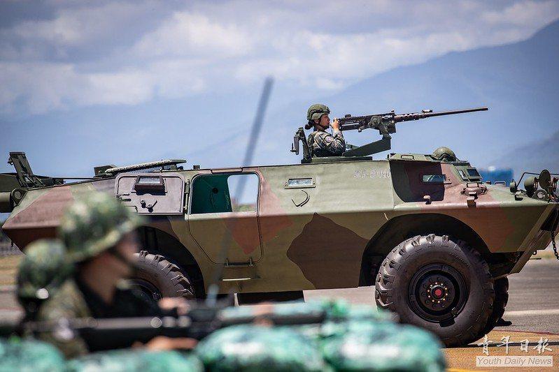 漢光36號演習,花防部反特攻演練。 圖/青年日報