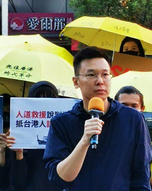 民進黨副秘書長林飛帆。聯合報系記者賴錦宏/攝影