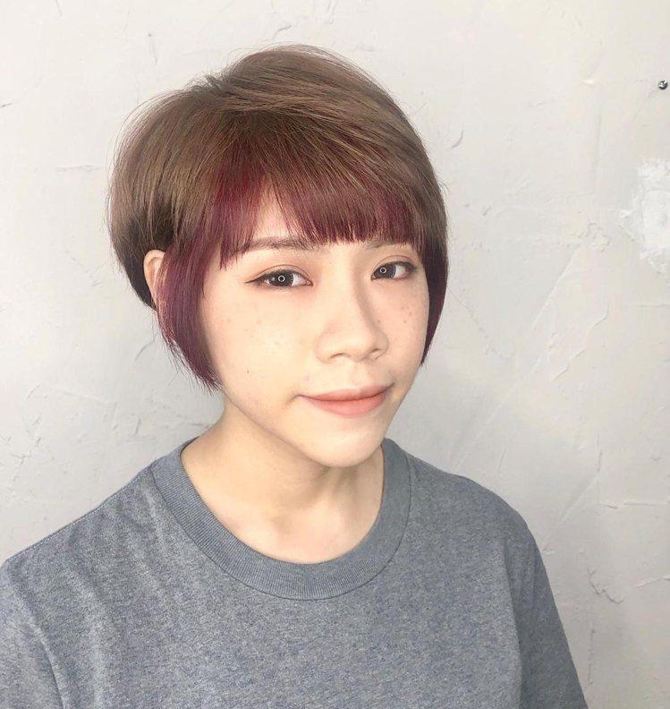 髮型創作/禾髮型 / Nancy Huang,圖/StyleMap美配提供