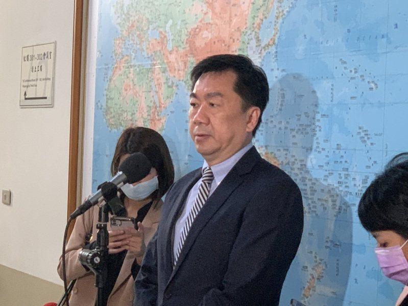 內政部次長陳宗彥。記者鄭媁/攝影