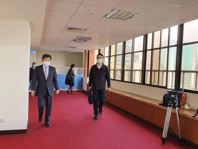 陳時中今出席社會福利及衛生環境委員會會議。記者楊雅棠/攝影