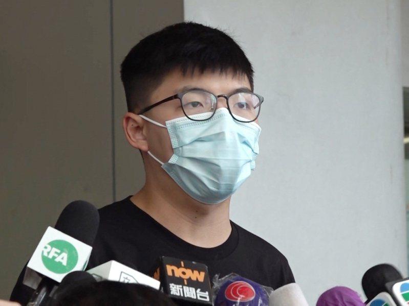 香港眾志前秘書長黃之鋒。(取自香港電台)