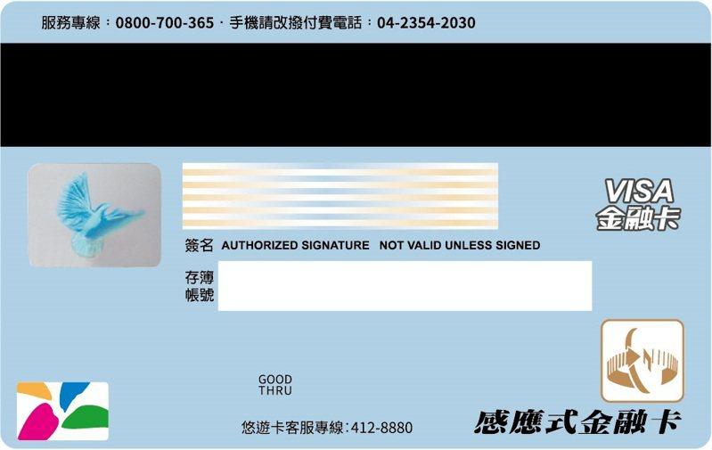 中華郵政公司訂於今年11月24日推出具悠遊卡票證功能的「郵政VISA金融卡」,提供顧客更完善金融服務及擴大支付應用範圍。 圖/中華郵政公司提供