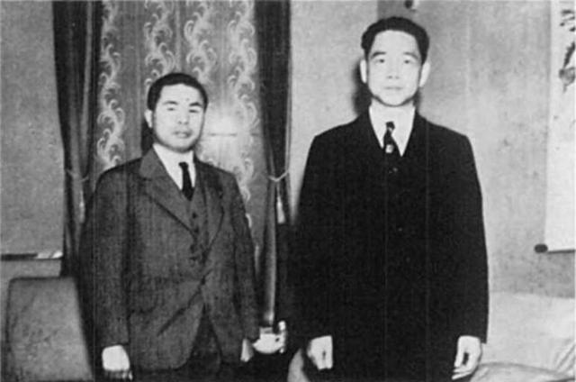 1949年根本博偷渡台灣,與兒玉譽士夫(左)的走私偷渡管道有關,兒玉戰時成立兒玉機關,協助侵華日軍情報工作,戰後幕後支持日本右派打擊左派,行賄官員,無所不用其極。 圖/翻攝自網路