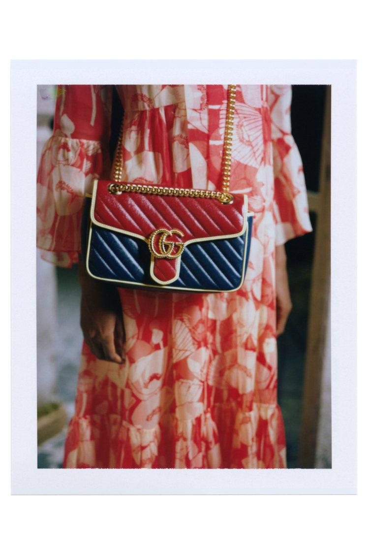 GG Marmont系列包款。圖/Gucci提供