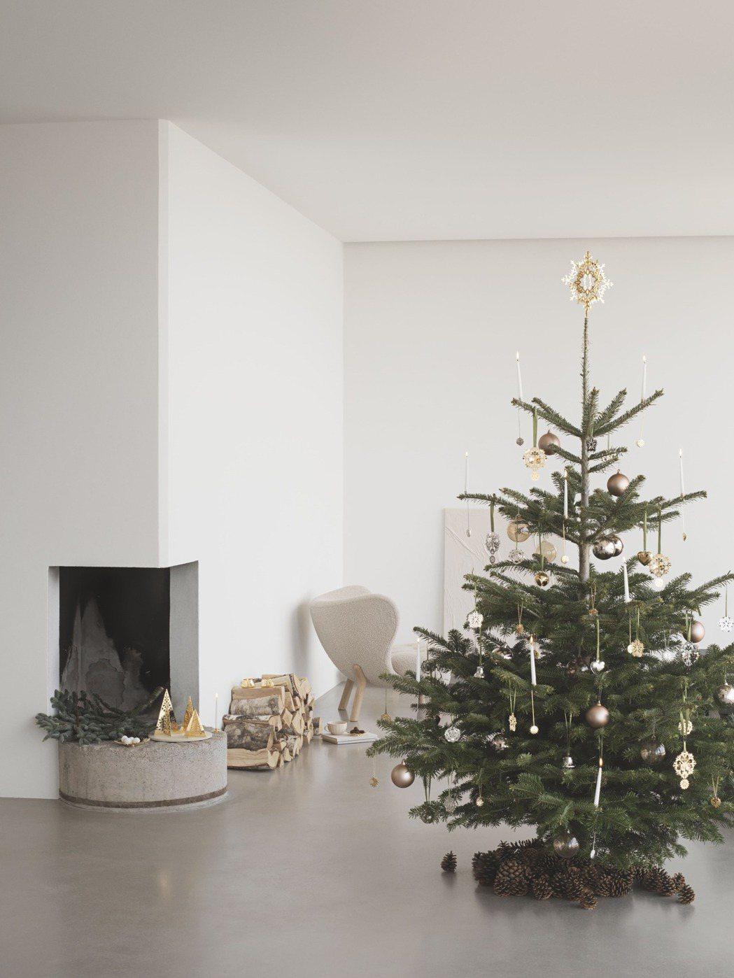 喬治傑生推出2020聖誕珍藏系列,打造居家北歐耶誕情調。圖/喬治傑生提供
