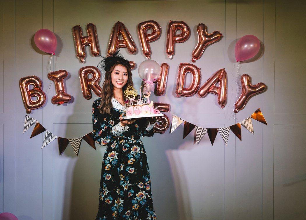 阿部瑪利亞舉辦25歲生日會與粉絲同樂。圖/麥卡貝提供