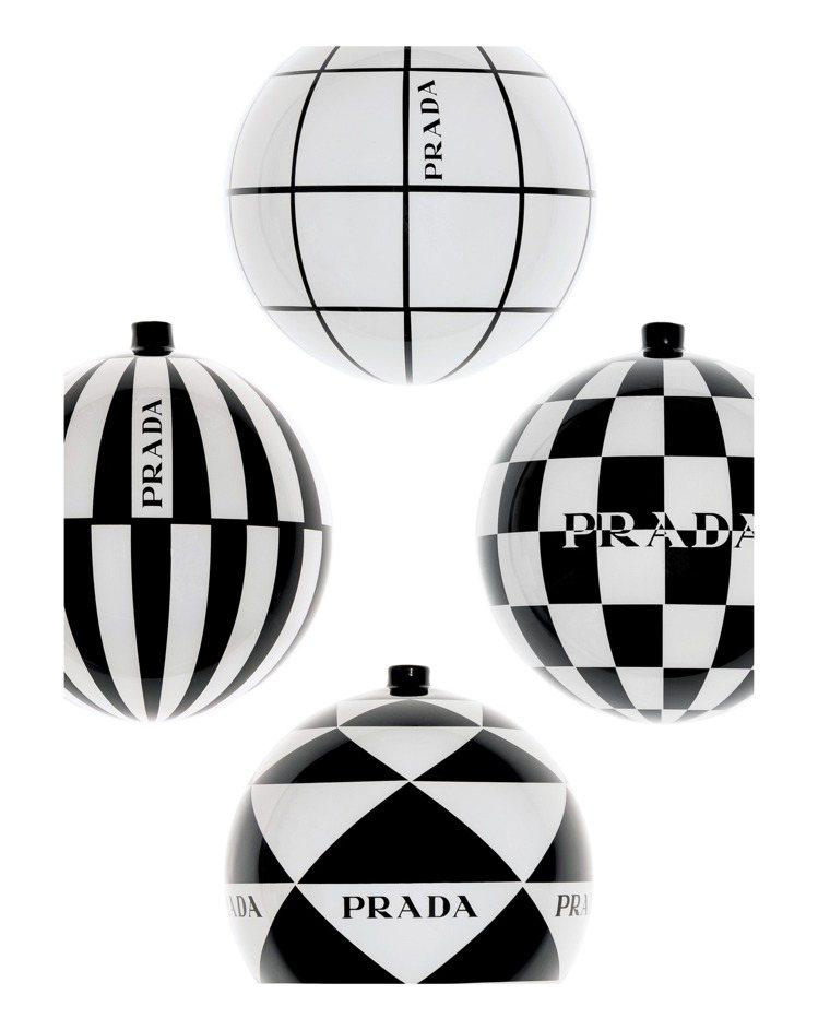 耶誕樹裝飾球,10,000元。圖/PRADA提供