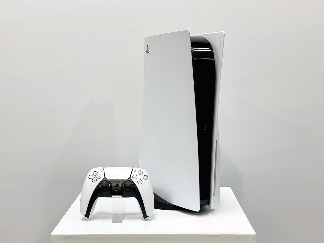 PlayStation 5。記者黃筱晴/攝影 黃筱晴