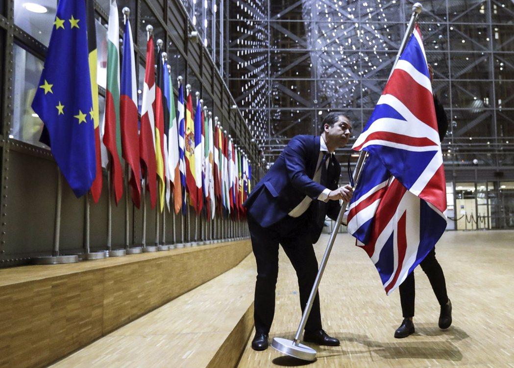 未來,三方將如何平衡脫歐後的尷尬局面,將會是對於跨大西洋同盟的一大考驗。圖為今年...