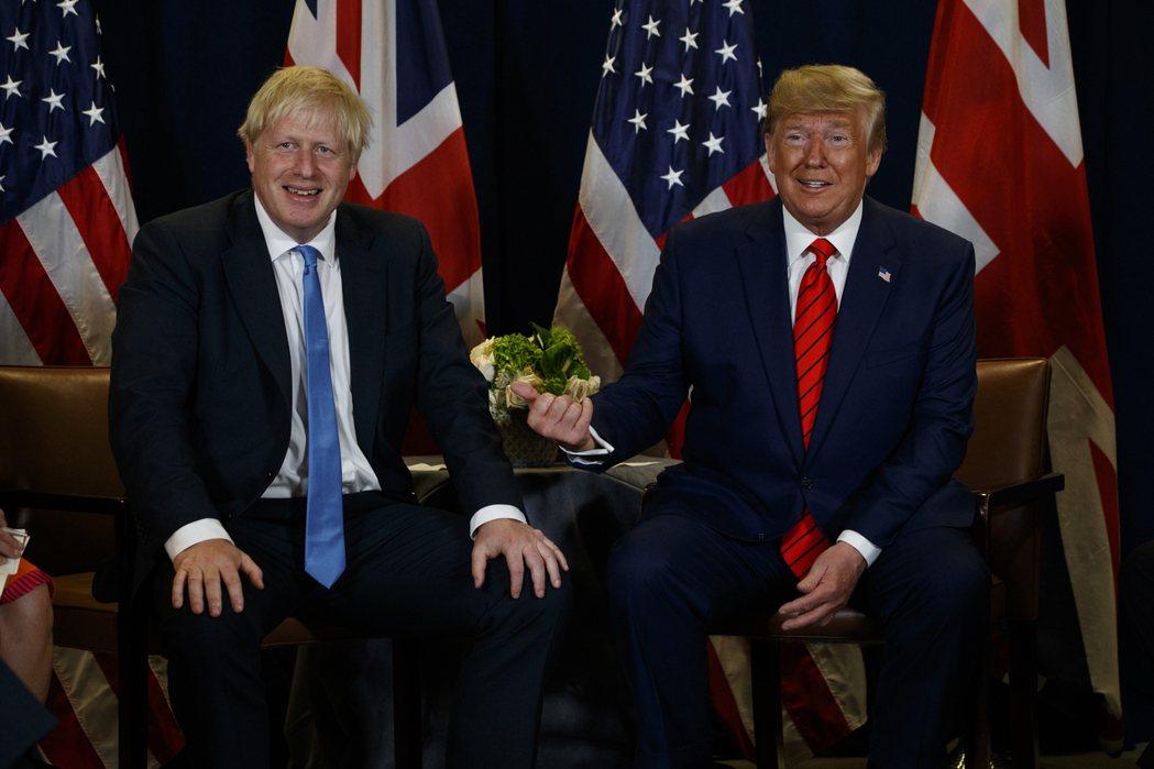 無論英國首相強生(Boris Johnson)最終能否和歐盟達成貿易協議、並在川...