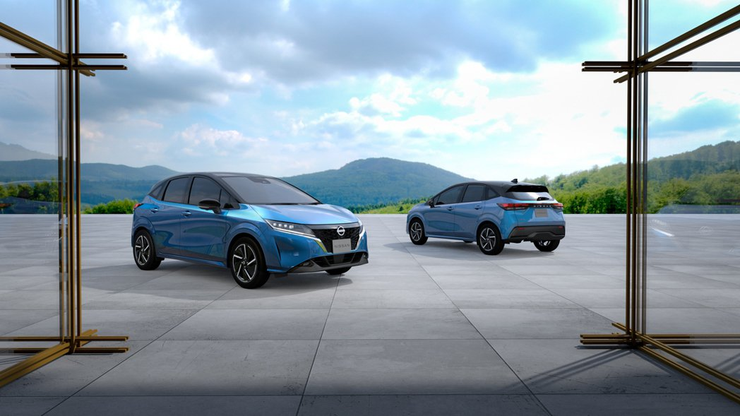 Nissan Note是日本e-POWER主打車款。 圖/Nissan提供
