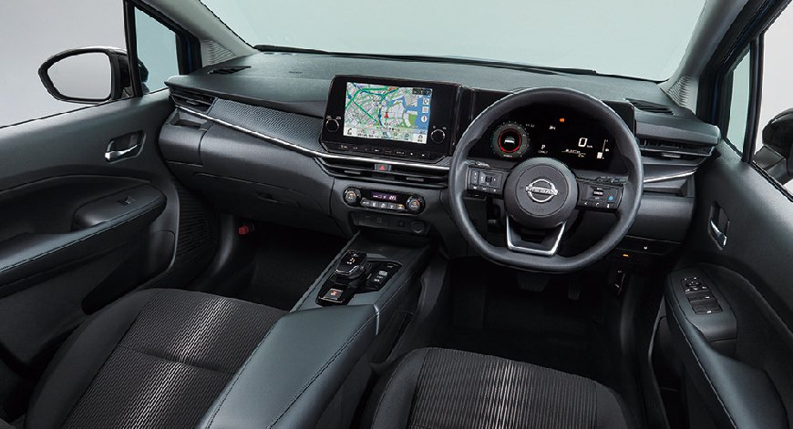 Note採用時尚簡潔的車艙設計。 圖/Nissan提供