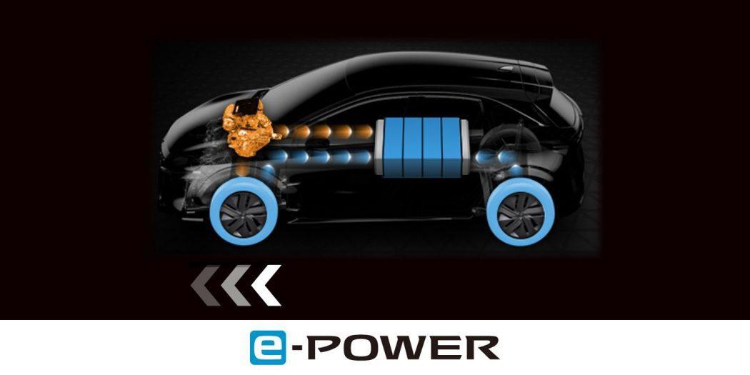 Nissan e-POWER動力以引擎做為發電使用,電動馬達則為主要動力輸出。 ...
