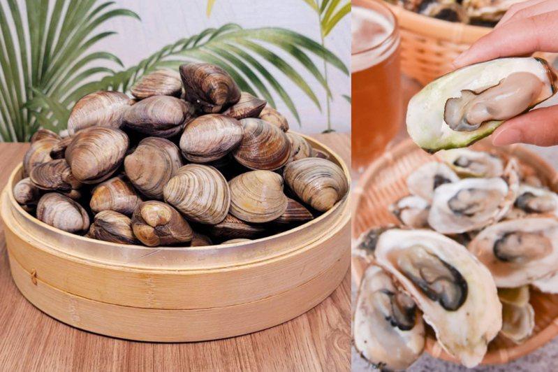 夏部火鍋最新提供產地直送的東石鮮蚵,還推出11月、12月壽星限定優惠,幾歲生日即可免費獲得幾顆牛奶貝。圖/夏部火鍋提供