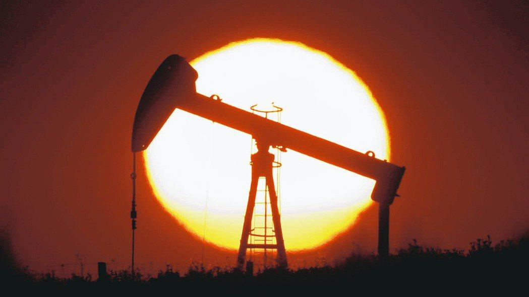 國際油價跌,示意圖。 路透