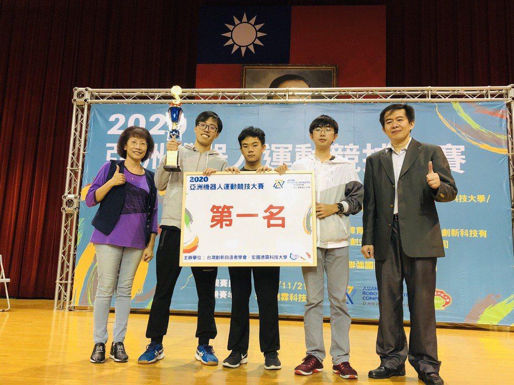 2020亞洲機器人運動競技大賽,吸引北台灣597隊伍、近二千位選手參賽,其中宏國...