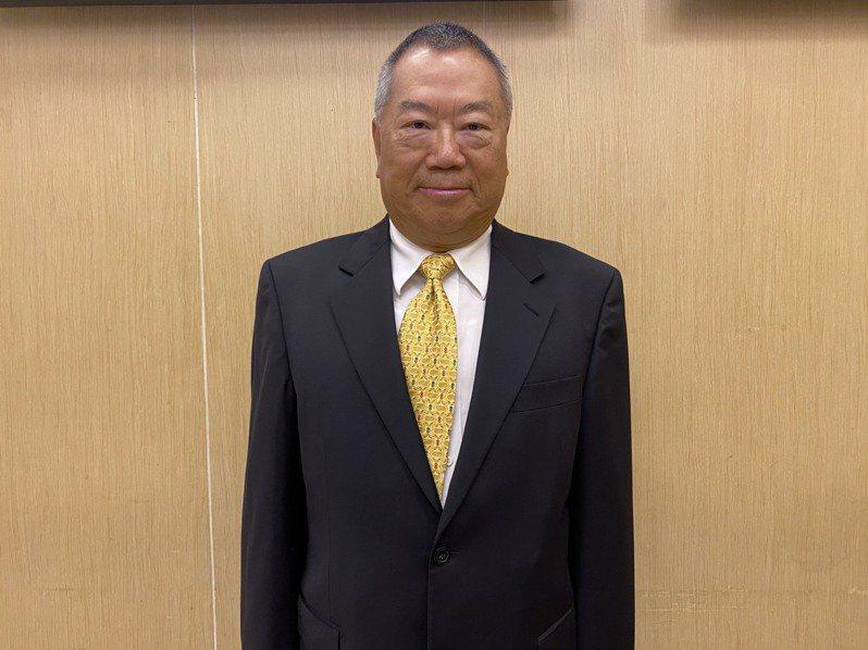 矽格董事長黃興陽。記者李孟珊攝影/報系資料照