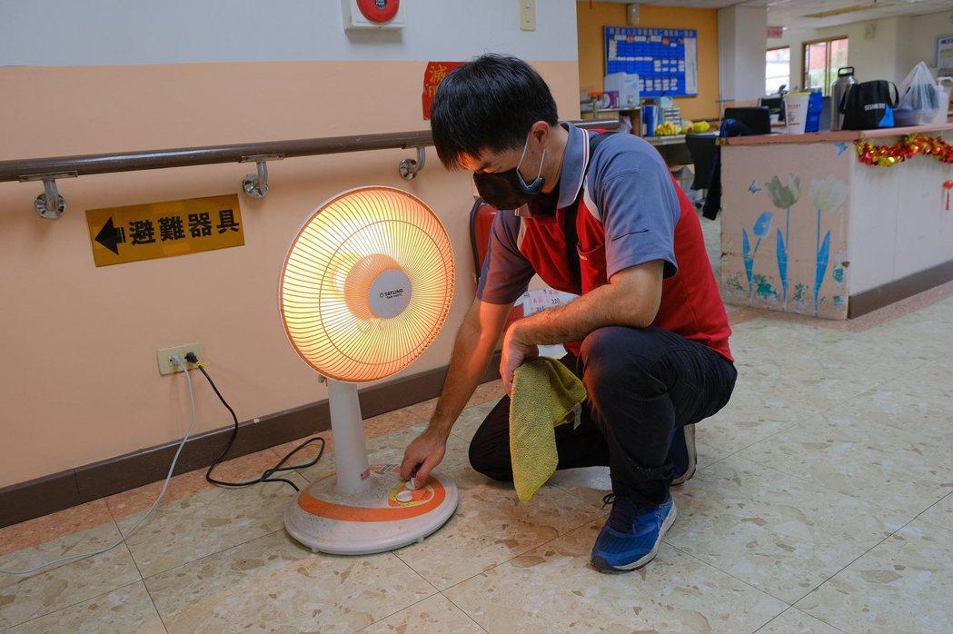 確認秋冬季節性家電使用狀況。業者/提供