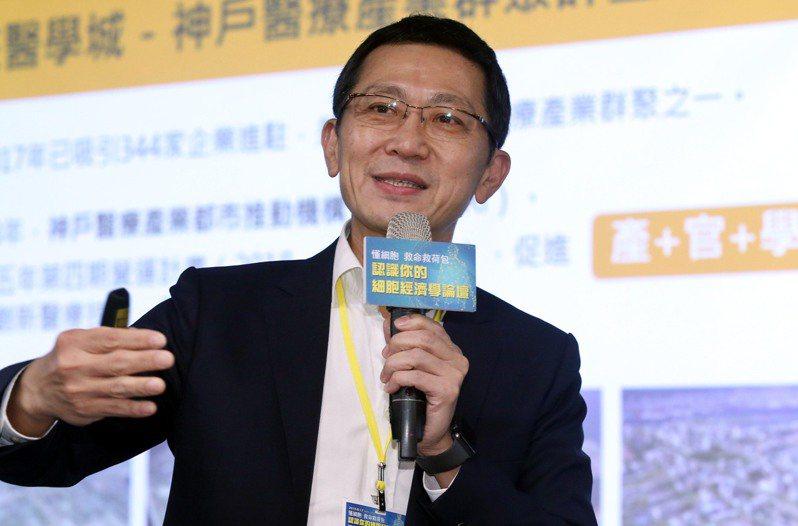 聯生技集團董事長蔡政憲。記者林俊良攝影/報系資料照