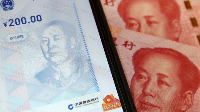 中國人民銀行大發春節紅包,遍灑30萬個、價值逾人民幣6,000萬元的紅包雨。圖/...