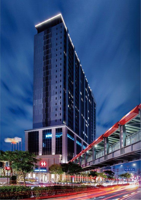 凱達大飯店與萬華火車站共構,多達750間客房,為全台第二大量體飯店。 業者/提供
