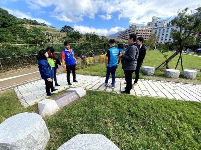 淡水區市定古蹟滬尾湖南勇古墓修復再利用完工,預定在12月1日開放。 圖/紅樹林有線電視提供